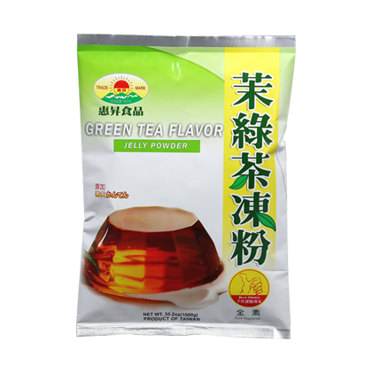 Green Tea Flavor Jelly Powder (1000g)