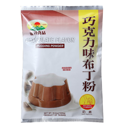 Chocolate Flavor Pudding Powder (1000g)